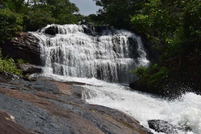 Cachoeira Barra Azul Bonito Partiu Interior