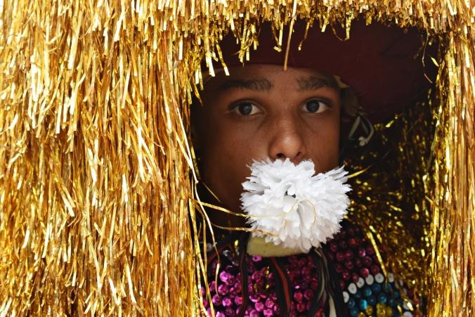Caboclo criança Maracatu rural